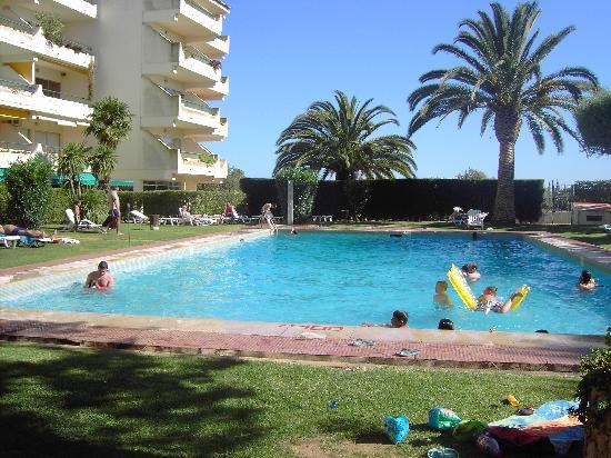 Oasis Village Apartments: Pool area 1