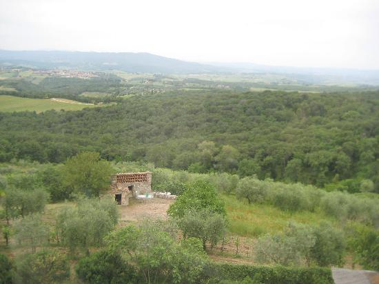 Villa Astreo: View from the Tower Room