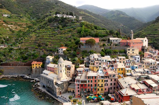 Overlooking Vernazza-May 2007
