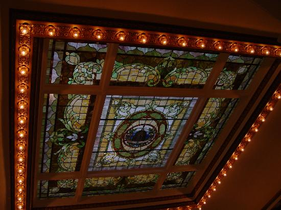 The Capital Hotel: Stained Glass Ceiling 2nd Floor