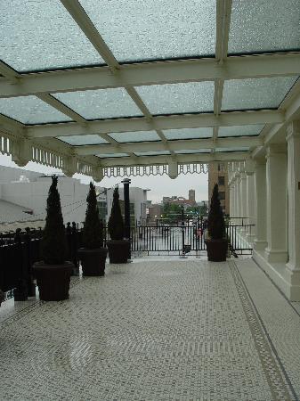 The Capital Hotel: Balcony - 2nd Floor