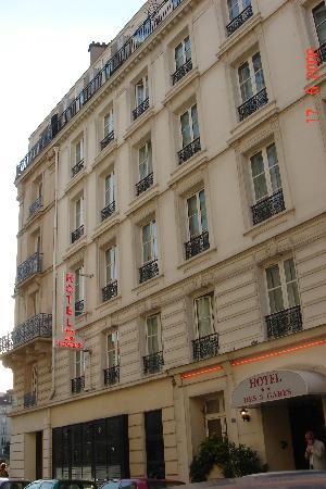 Hôtel Des Trois Gares : main building
