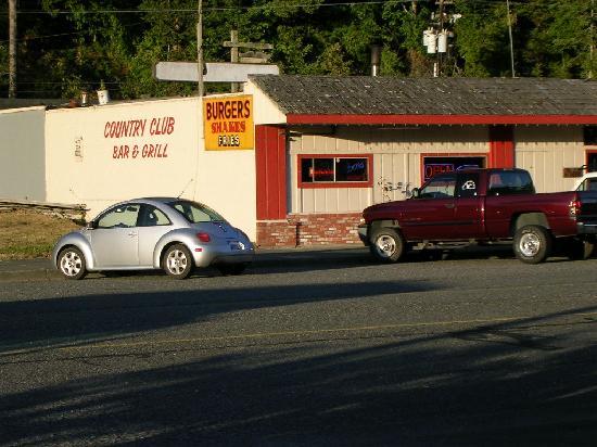 Ravenwood Motel: Dinner Across Street
