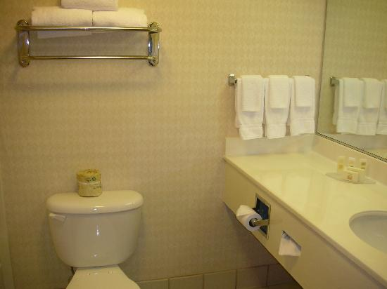 Courtyard Sacramento Midtown: Bathroom
