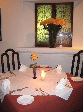 Meson Panza Verde: Our table
