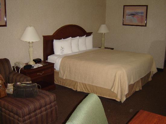 Quality Inn Exit 4: The room