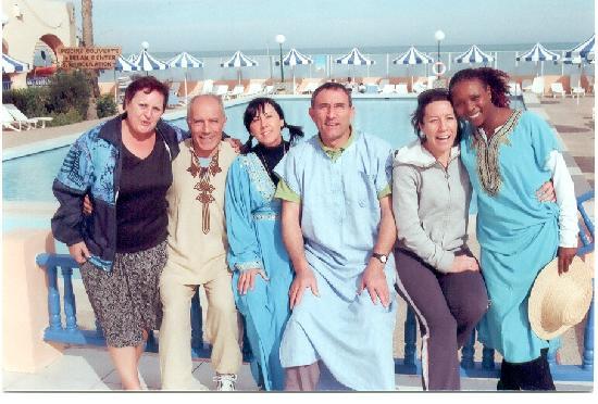 Club Oasis Marine: Sfilata tunisina