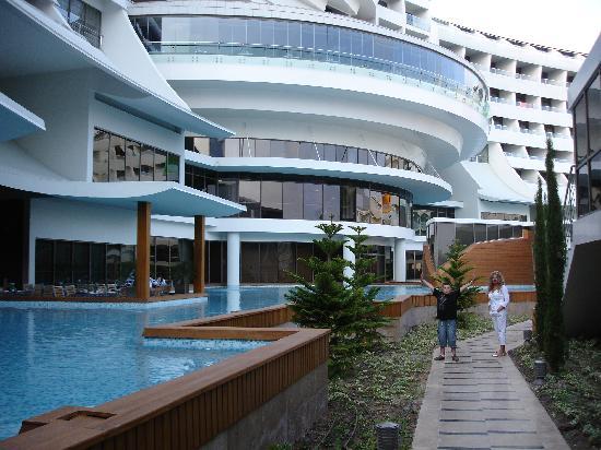 Cornelia Diamond Golf Resort & Spa: sapore a la carte restaurant-lefthand side