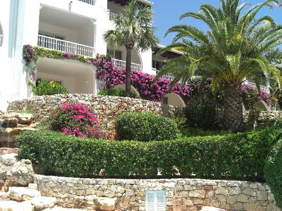 Vila Vita Parc Resort & Spa: rooms from outside