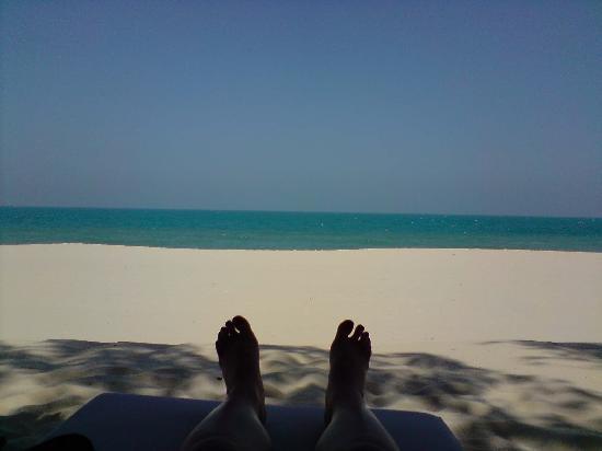 Cham Villas: private beachfront