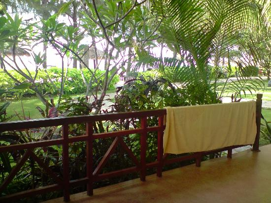 Cham Villas: view from our front porch