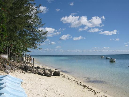 Trou aux Biches: la plage