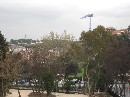 โรงแรมคาดินัลเซนต์ปีเตอร์: balcony view