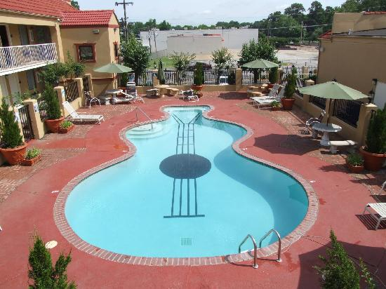 The Guitar Shaped Pool Picture Of Days Inn By Wyndham