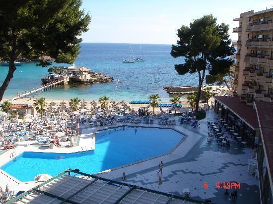 Grupotel Playa Camp de Mar: hotel from balcony