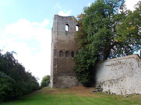 West Malling, UK: St Leonard's Tower