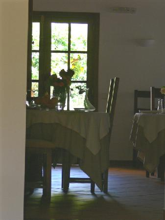 Ca's Curial: dining room