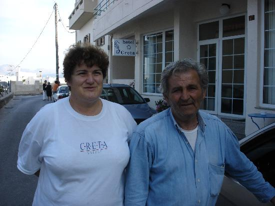 Creta Hotel: The owners