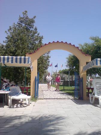 Georgia Apartments: the entrance