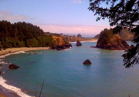 Эврика, Калифорния: Beautiful View of College Cove Trinidad, CA Humboldt County