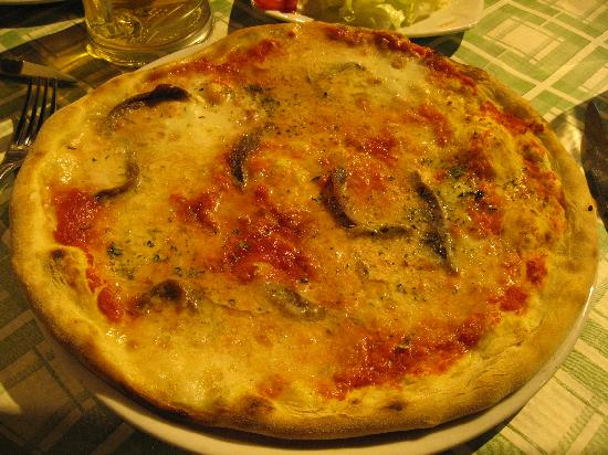 Domus Notari: Great pizza near to b&b