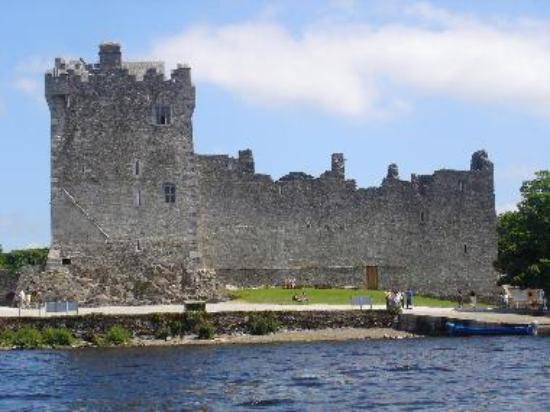 Ross Castle as approached by boat