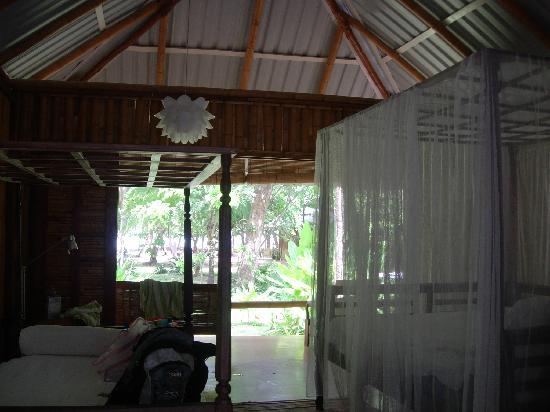 Milarepa: open air bungalow