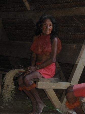 ExplorNapo Lodge: Yaqua Indian lady - my fav photos