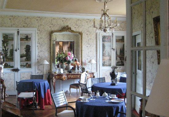 Chateau Sainte Catherine: stunning breakfast area