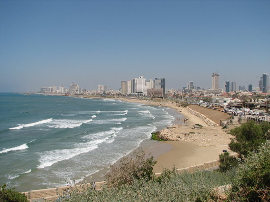 Tel Aviv, Israël : View of Tel-Aviv from Old Jaffa