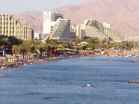 ‪אילת, ישראל: Eilat - the hotels area‬
