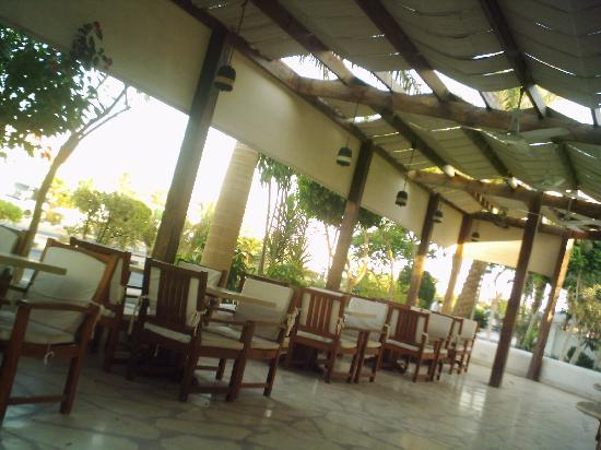 Marmara Sabena Resort Egyptian Tentaurora Cafe Seating Outside