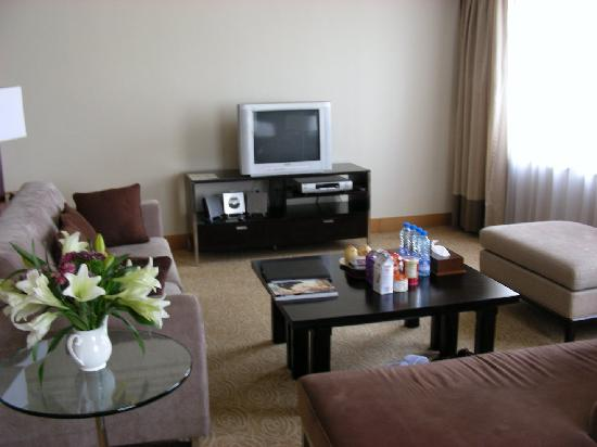 Ascott Beijing: Living Room