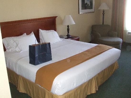 Holiday Inn Express Tehachapi Hwy 58 / Mill Street: Blick ins Zimmer