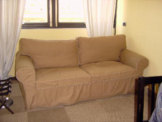 Residence St. Joannes: Sofa