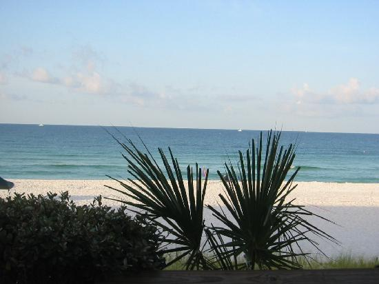 Sea Oats Motel: Our view from patio; gorgeous