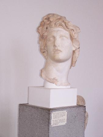 Municipal Art Gallery of Rhodes : Head of Helios