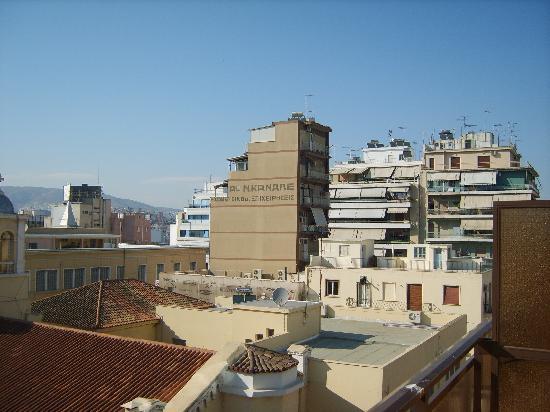 Hotel Argo Anita: vista dal balconcino