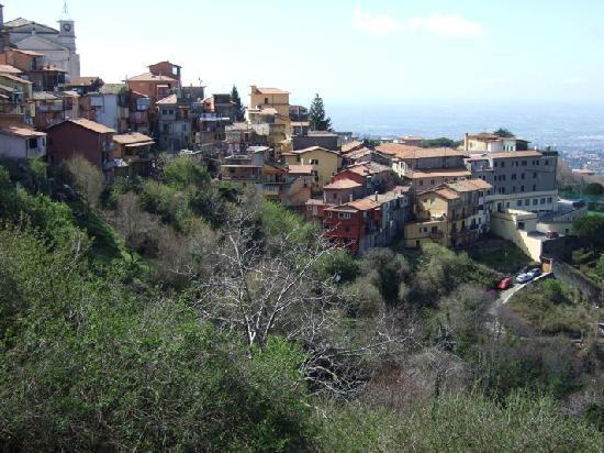 Rocca di Papa ist landschaftlich wunderschön gelegen