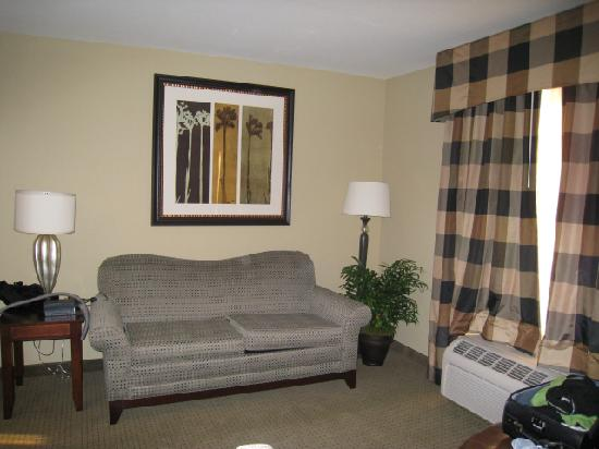 Homewood Suites by Hilton Fresno: home away from home - sofa bed
