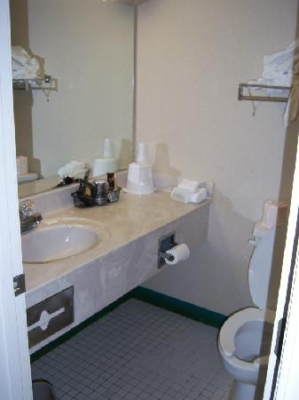 Days Inn Madisonville: Bathroom--shower was terrible!