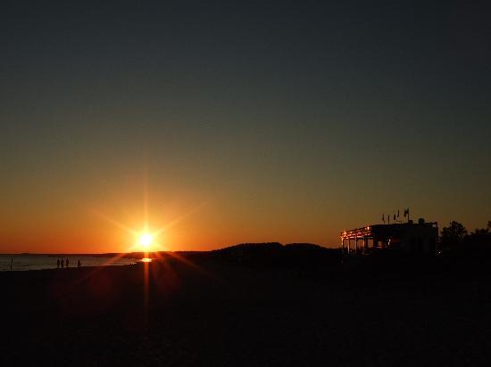 Royal Son Bou Family Club : Sunset on Son Bou Beach
