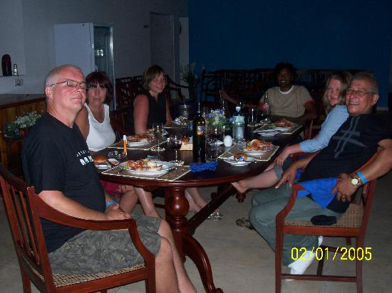 The Waterside Bentota: Happy faces after a great meal
