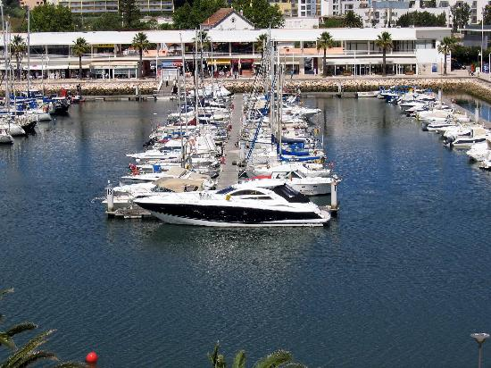 Hotel Marina Rio : View from our window