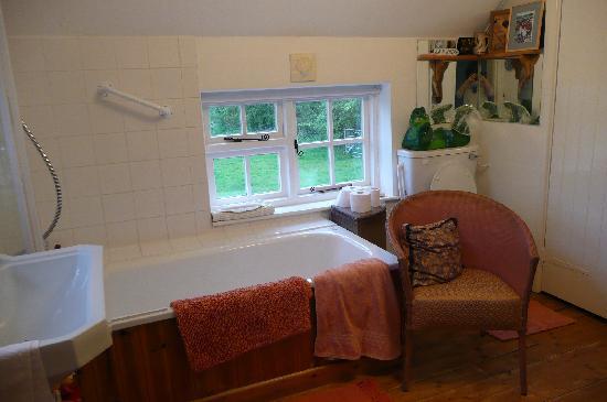 Hillview Cottage: Quaint bathroom