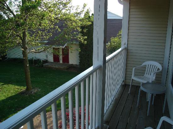 Church Hill Inn: Private balcony