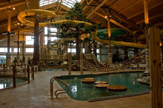 Timber Ridge Lodge & Waterpark: Water Park - Indoor Portion