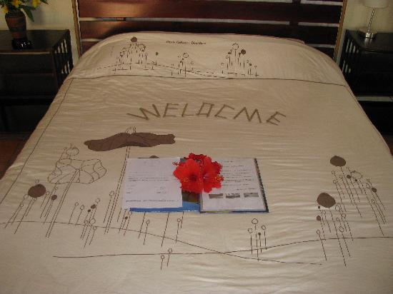 Cassia Cottage: Our welcome message