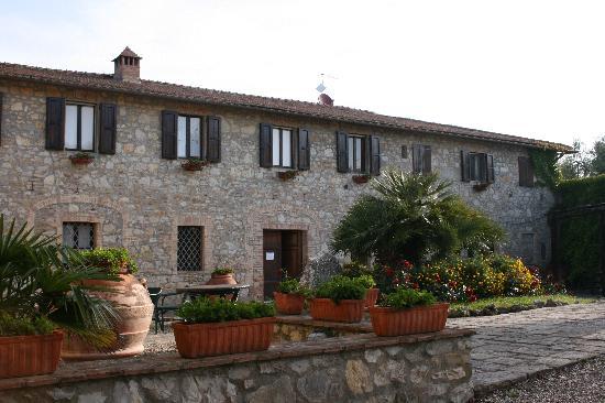 Villa Catignano: The fattoria