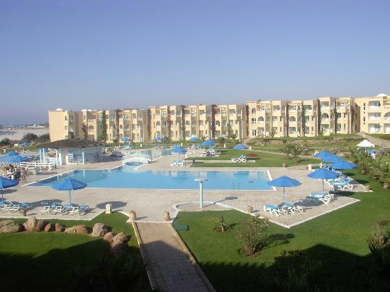 Cap-Bon Kelibia Beach Hotel & Spa : VISTA DALLA CAMERA